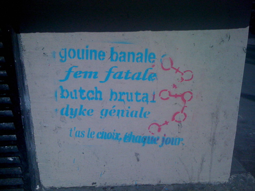 gouine banale